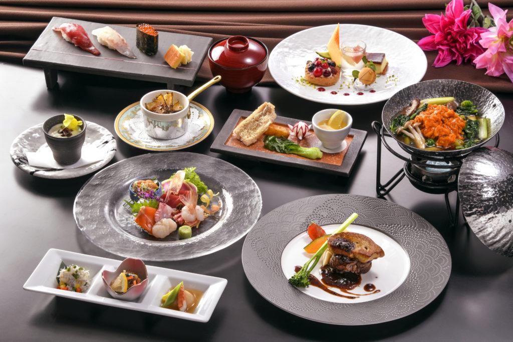 小樽朝里クラッセホテルのグレードアップ和洋中饗宴プライムディナーコース・イメージ
