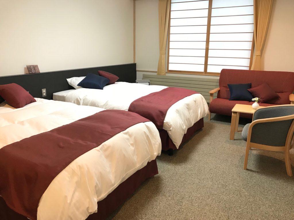 十勝ナウマン温泉ホテルアルコ客室