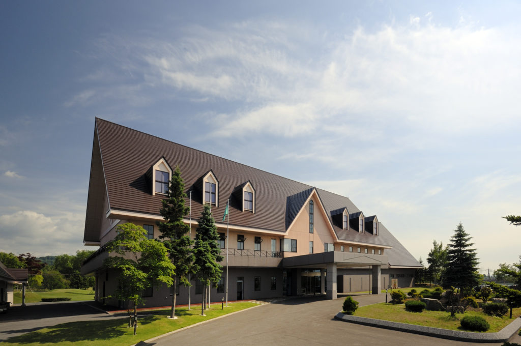 新奈井江カントリークラブ クラブハウス