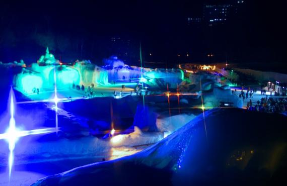 層雲峡 氷瀑祭り