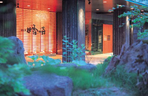 ニセコ昆布温泉ホテル甘露の森外観