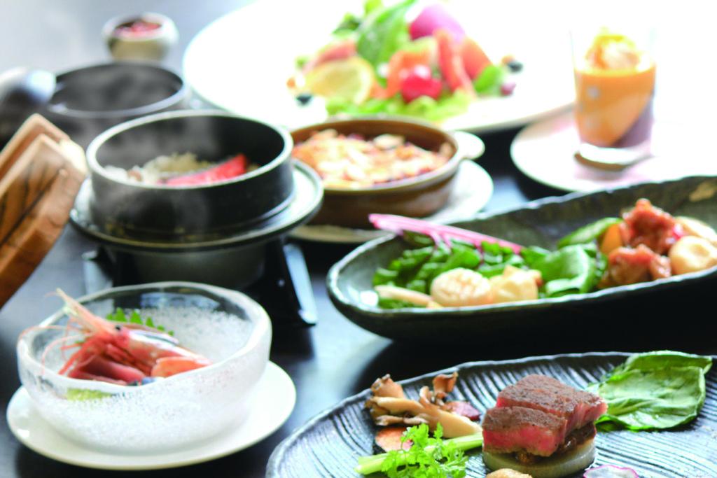 十勝ナウマン温泉ホテルアルコ夕食イメージ