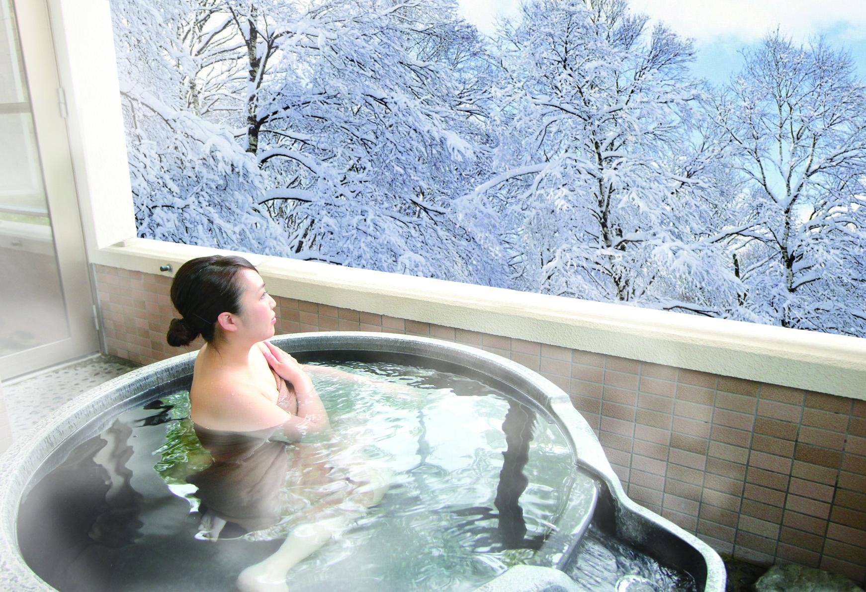 露天風呂付き和室|森のゆホテル花神楽