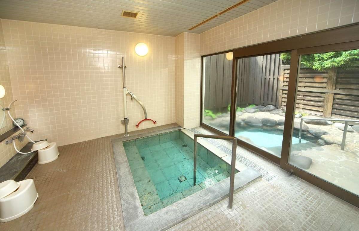 貸切ファミリー風呂|森のゆホテル花神楽
