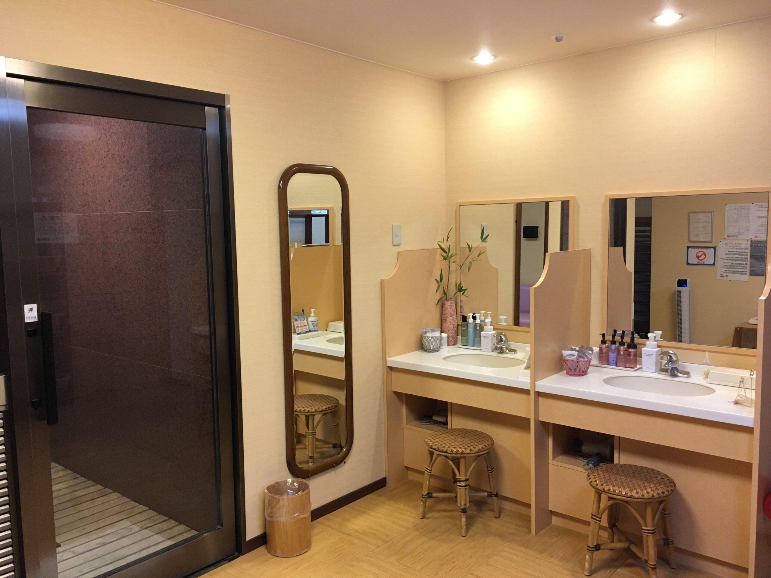 脱衣場|ニセコ昆布温泉ホテル甘露の森