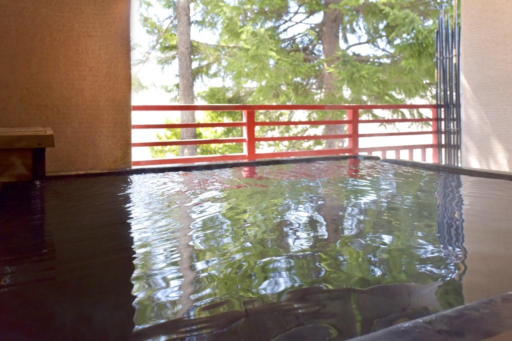 露天風呂付特別室|ニセコ昆布温泉ホテル甘露の森