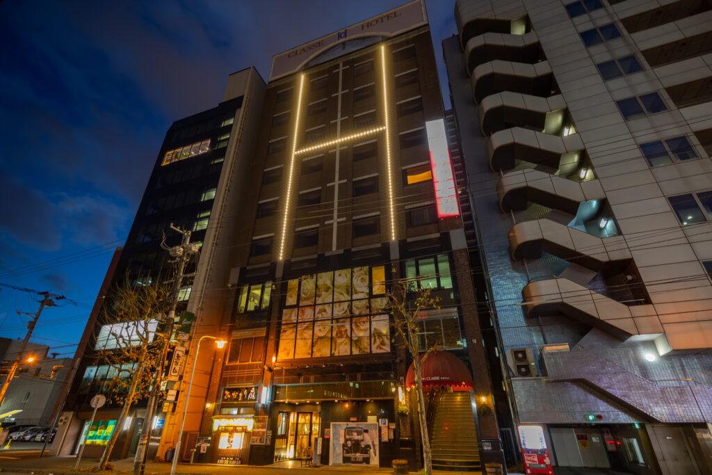 札幌クラッセホテル外観