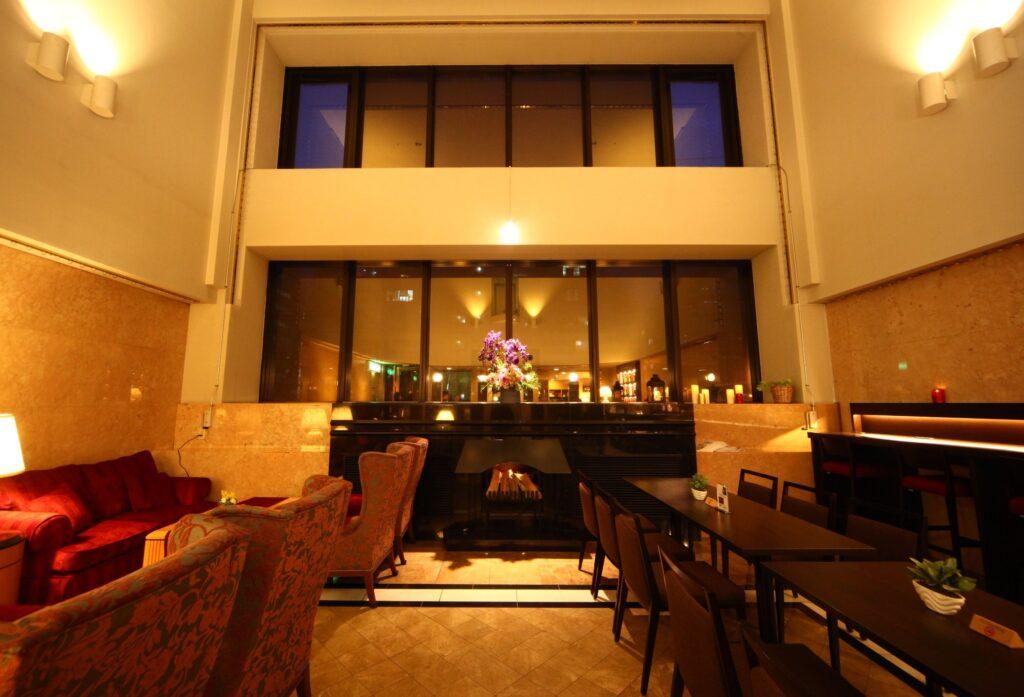 札幌クラッセホテルロビー